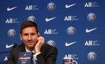 A entrevista coletiva de Messi começou por volta de 6h (de Brasília) e se estendeu por quase 50 minutos