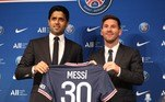 Veja imagens da apresentação de Messi no Paris Saint-Germain