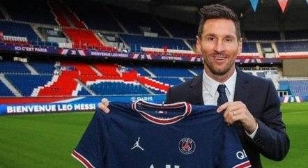 Messi é o novo jogador do PSG