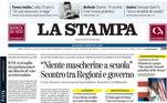 La Stampa colocou na capa: Sensacional Messi: rompe com barça edesencadeia um leilão mundial