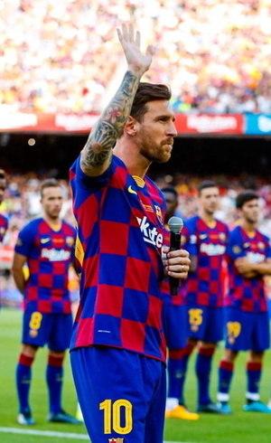 Messi quer colocar ponto final na  polêmica criada no final de agosto