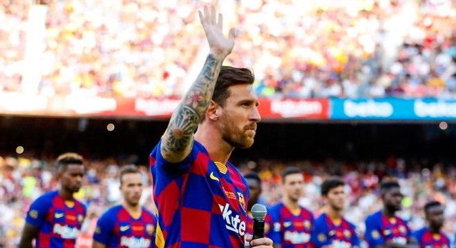 Messi está de saída do Barcelona, camisa que vestiu por 20 anos