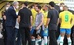 Já o francês L'Équipe foi mais neutro: 'Paralisado o jogo pelas autoridades'Leia mais: Anvisa pede para PF acompanhar argentinos até embarque no aeroporto