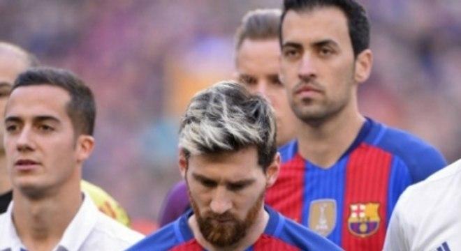 Messi viveu maus momentos também