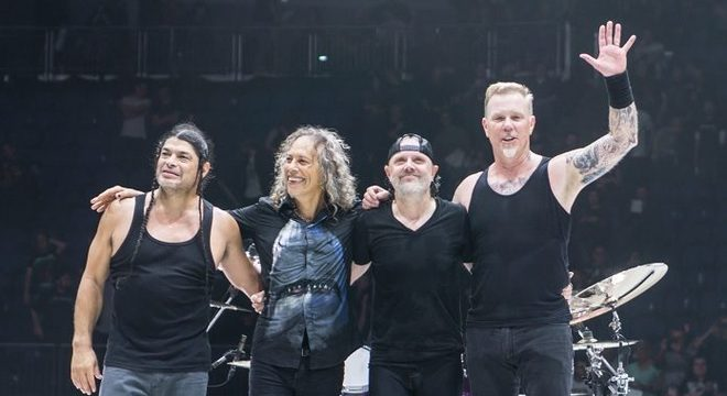 Bilionário: Metallica compartilha números incríveis de plays no Spotify