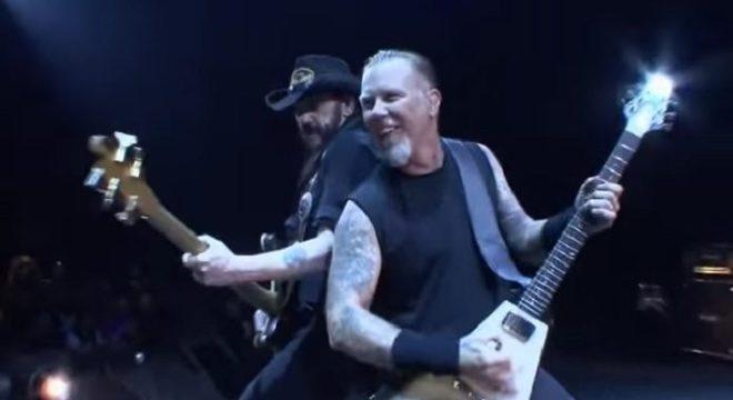 Metallica e Lemmy Kilmister