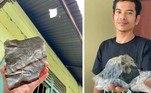 Um indonésio se tornou milionário da noite para o dia após um meteorito cair em sua propriedade