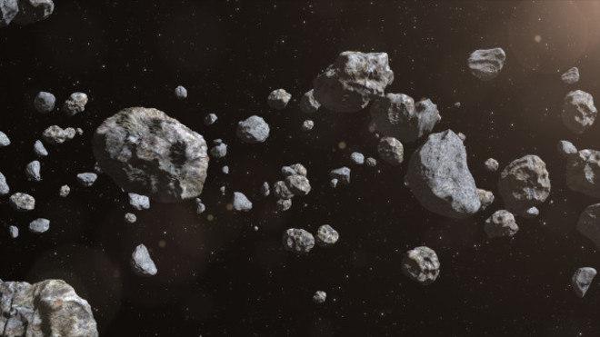 meteoroides no espaco