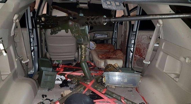 Ataque do PCC para tomar controle do tráfico no Paraguai usou metralhadora militar pesada