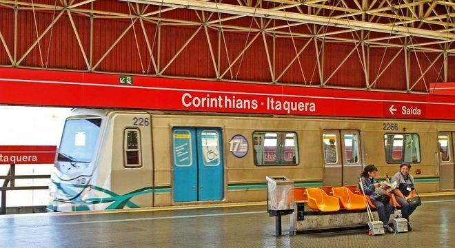 Estação Corinthians-Itaquera vai oferecer aferição de pressão gratuita nesta sexta