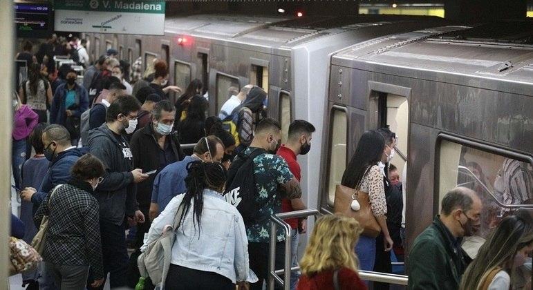 Metrô de São Paulo foi uma das empresas com prejuízo em 2020