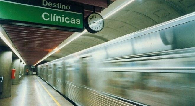Funcionários do Metrô terão que manter 80% do efetivo no horário de pico