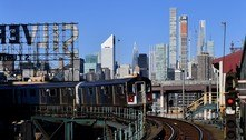 Nova York reabrirá metrô 24 horas por dia em meados de maio