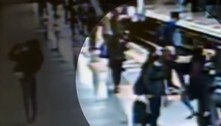 Homem tenta empurrar mulher nos trilhos do Metrô de São Paulo