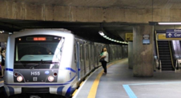 Linha 3-Vermelha do Metrô de SP tem operação diferenciada neste domingo (12)