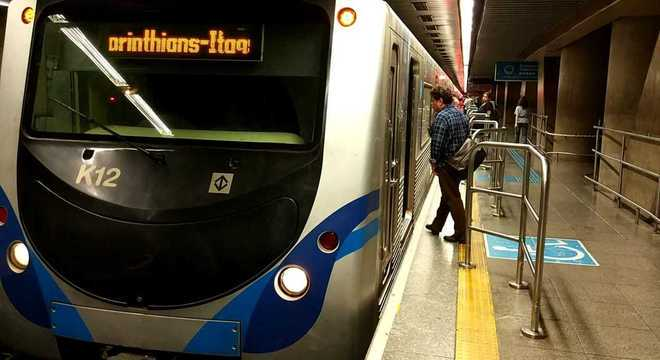 Portas aumentam segurança de usuários do Metrô