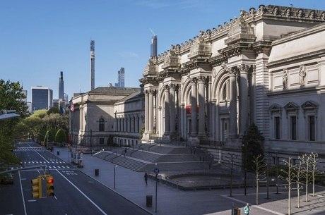 Fachada do Metropolitan Museum of Art, em Nova York