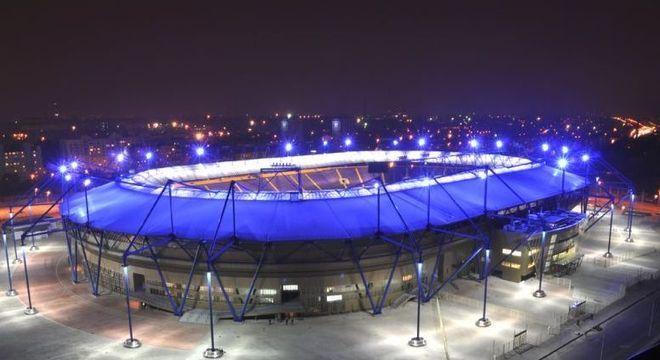 O Metallist, estádio do Shakhtar