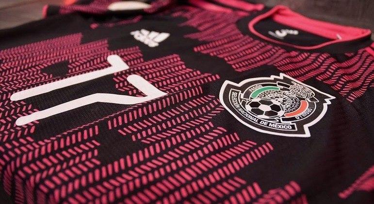 Uma camisa de goleiro do México