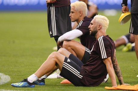 Os torcedores prometem repetir penteado
