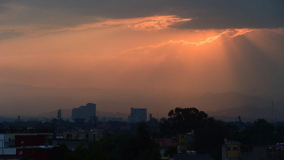 O México continua a combater a poluição do ar