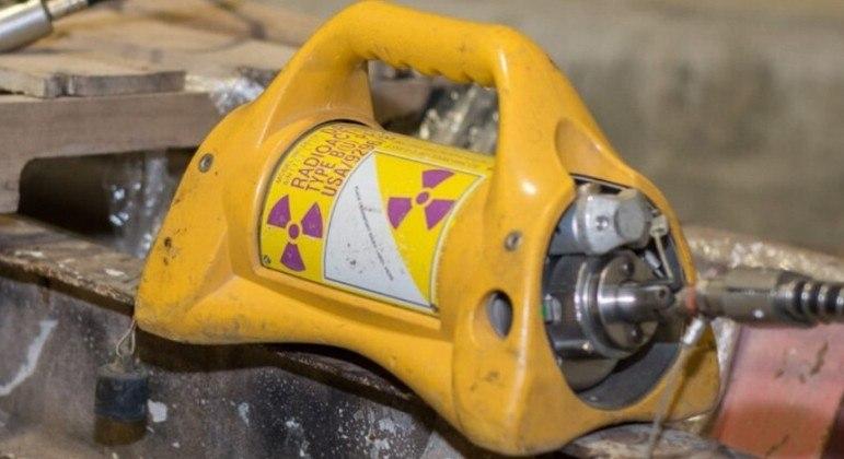 Fonte radiativa que usa Irídio-192 pode levar até à morte se for retirada