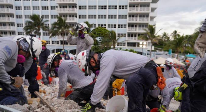 Mais corpos são encontrados nos escombros de prédio em Miami