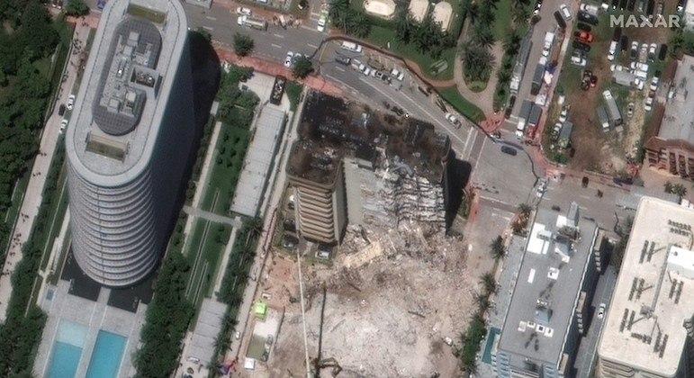 Parte do edifício que ainda está de pé será demolida para evitar risco de novo acidente