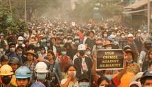 Comunidade internacional repudia violência em protestos em Mianmar