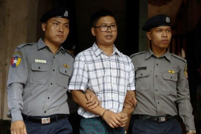 Repórter faz 1º relato detalhado a tribunal sobre prisão em Mianmar
