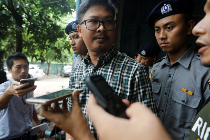 Jornalistas presos em Mianmar: testemunha não aparece para depor
