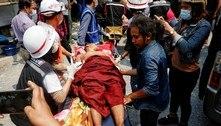 Pelo menos 12 pessoas são mortas em protestos em Mianmar