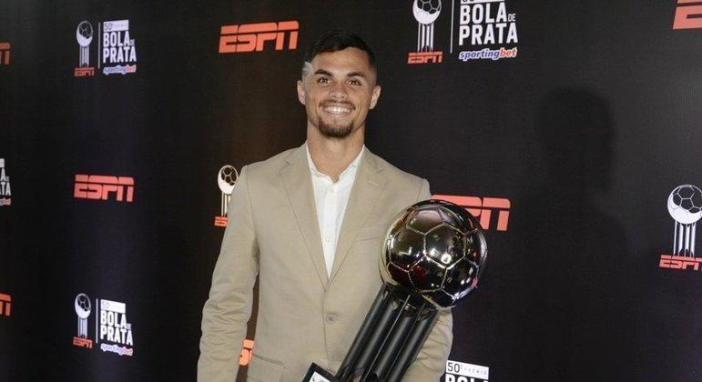 Michael ganhou prêmio como a revelação do Brasileiro de 2019 - Reprodução/ESPN
