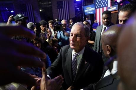 Michael Bloomberg vem crescendo em pesquisas