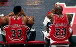 O astro que fez história no Bulls, jogou pela equipe deWashington por duas temporadas após sair de Chicago. Jordan pode ter sua sua camisa chegando ao valor de cerca de R$ 2,7 milhões