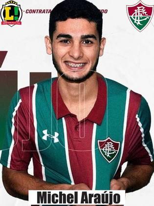 Michel Araújo - 6,5 -Entrou no fim no lugar de Nenê. Conseguiu dar velocidade ao Fluminense e quase marcou um belo gol no fim, em um chute forte de fora da área.
