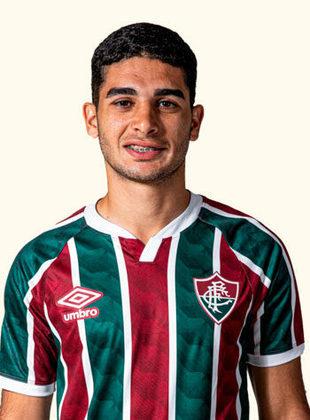 Michel Araújo - atacante - 24 anos - contrato até 31/12/2023