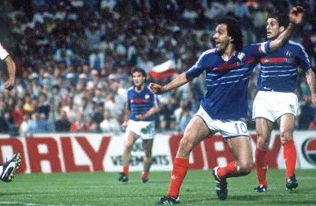 Michel Platini - O ídolo francês foi ultrapassado por Cristiano Ronaldo em número de gols, mas segue com uma média impressionante: nove tentos em cinco partidas