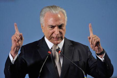 Temer tem reunião no Planalto com vice-líderes aliados