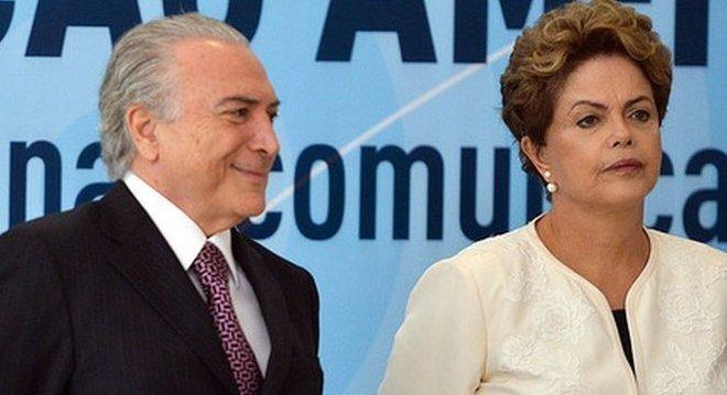 Temer, eleito duas vezes vice de Dilma, tem repetido que herdou a crise