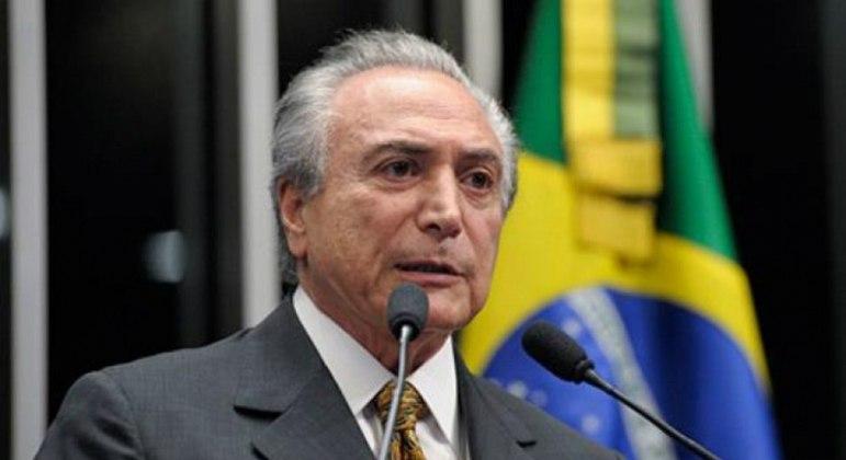 O ex-presidente Michel Temer: atuação animou pemedebistas e resgatou imagem de conciliador.