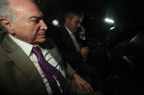 O ex-presidente Michel Temer volta à prisão