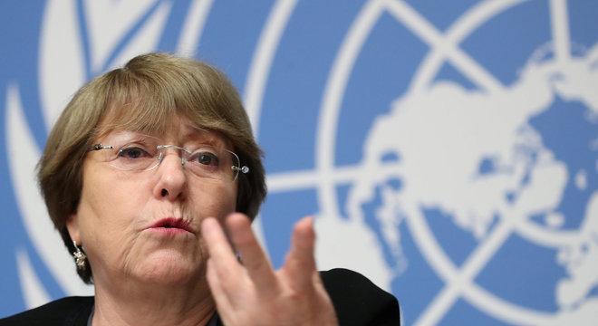 Bachelet destaca que a população precisa ser informada corretamente sobre as medidas
