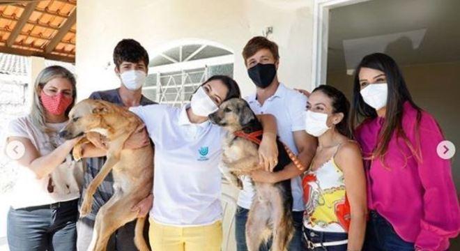 Michelle defende sanção de lei que aumenta pena a maus-tratos a cães