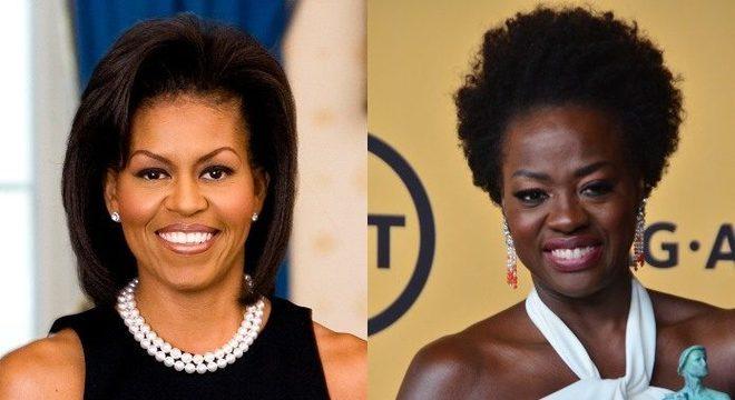 Viola Davis interpretará Michelle Obama em nova série do Showtime