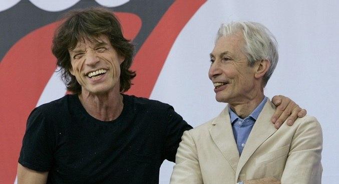 Mick Jagger homenageou Charlie Watts nas redes sociais