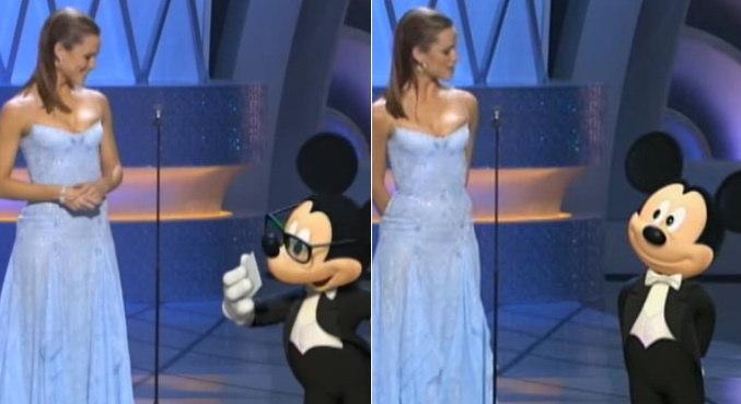 Mickey já participou como apresentador da cerimônia de entrega do Oscar