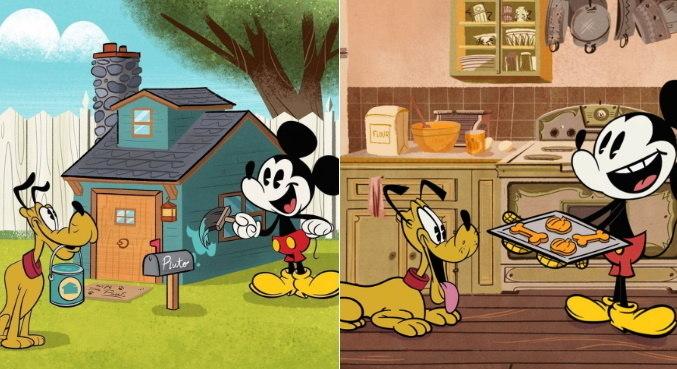 Pluto não seria o cachorro do Mickey, mas fez muito sucesso com o público
