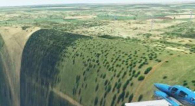 Microsoft Flight Simulator tem buraco bizarro e ele fica no Brasil