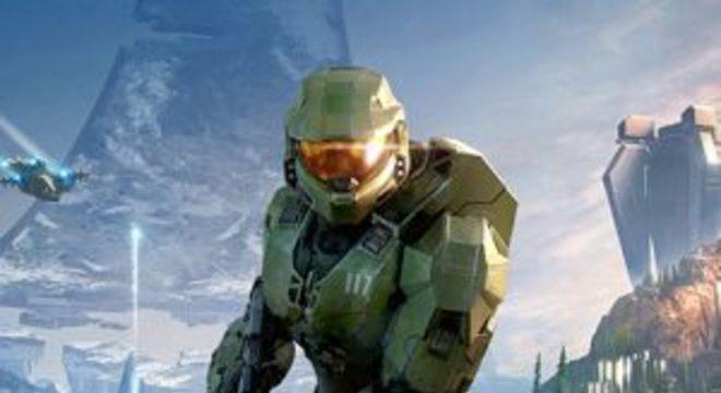 Microsoft mostra arte de Halo Infinite antes da apresentação do Xbox Series X